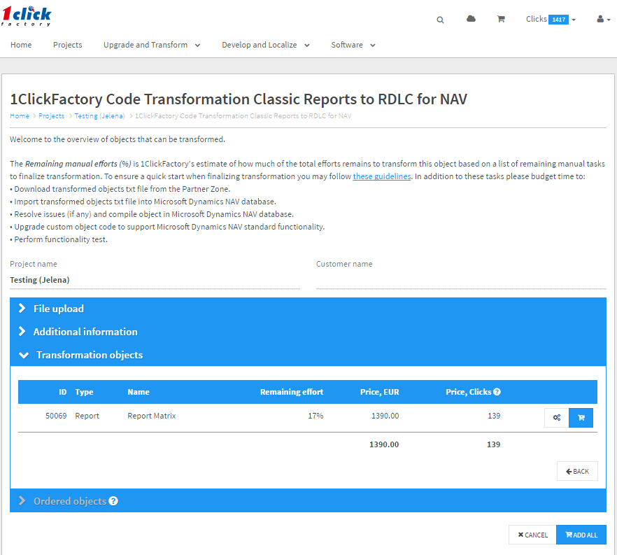 Classic Reports to RDLC transformation